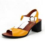 Босоножки женские кожаные ED'ART 6001.624'bl.yel