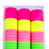 Резинки для волос 3 см (цена за 66 шт) SF-618, ассорти Артикул: 300-292