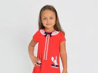 """Платье """"Прятки-2"""" с шелкографией"""