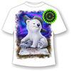 Детская футболка Белый мишка 1058 (В)