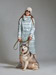 Пальто женское мод. 111, жемчуг