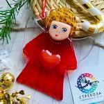 """Новогодний сувенир """"Ангел с сердцем»"""