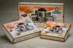 ЛУКУМ «АКДЕНИЗ» С КАКАО 250 гр (подарочная упаковка)