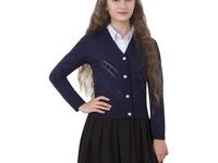 Кардиган Школьница синий 140-146 см (дешевле чем сейчас на сайте производителя)