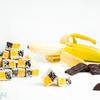 Лукум нуга банановая с шоколадом 1 кг