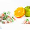 Лукум нуга апельсиновая с яблоком 1 кг