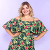 Купальное платье Тропический остров Magesty