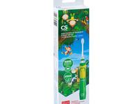 Электрическая звуковая зубная щетка CS Medica CS-562 Junior зеленая (от 5 лет)
