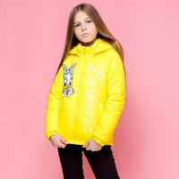 """Демисезонная куртка-жилетка для девочки """"VKD-26"""""""