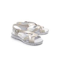 Туфли открытые летние женские, натуральная кожа, белые