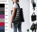Стильная стеганная сумка для всего самого необходимого