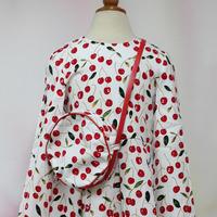"""Платье """"Карина"""" с сумочкой, белая вишня, размер 38/140-146"""