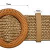 Ремень женский плетеный (собираем ряд 10 шт)