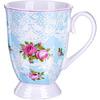 Кружка 330мл Loraine Цветы 27882 фарфор