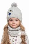 Комплект «Раяна» (шапка+снуд)  (цвет выбираем)