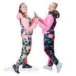 Комплект для девочки куртка и брюки