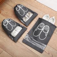 Сумочка для обуви СЕРАЯ