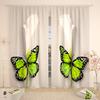Фотошторы Каллы с бабочкой
