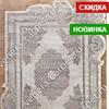 Ковер 00856C - GREY / BROWN - Прямоугольник - коллекция SAFIR
