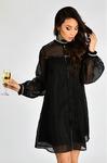 Платье эффектное Чёрное