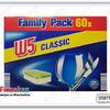 Таблетки для п/м машины W5 Classic - 60 шт