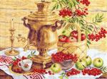 817 Русский колорит - рисунок на канве (МП) оптом