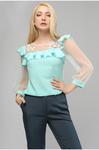 Блуза шёлковая