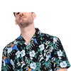 рубашка мужская Boisouey Men's 100% Cotton Button Down Short Sleeve Hawaiian Shirt