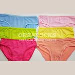 Хлопковые трусы для девочек в упаковке 10штук разных расцветок арт. F5005