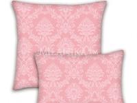 ЖАККАРД поплин наволочки - Розовый