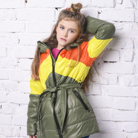 "Демисезонная куртка для девочки ""VKD-25"""