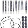 Knit Picks Options Wood Interchangeable Knitting Needles Set - US 4-11 (Majestic)