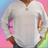 Хлопковые мужские рубашки с длинным рукавом из Тайланда