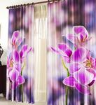 Фотошторы Орхидея