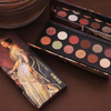 Палетка теней HOJO 12 color art silky eyeshadow palette 8046-1