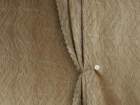 Портьера жаккард Ламинарии Артикул: 25/8-68-6 какао  Ширина рулона: 150 см