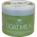 Lilly Kay Питательный и увлажняющий крем для лица и тела, для всех типов кожи, козье молоко, 250 мл