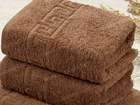 Полотенца махровые - Коричневый