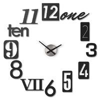 Часы настенные numbra черные Umbra FD-118430-040