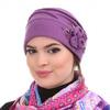 Женская шапка кубанка из натуральной валянной шерсти