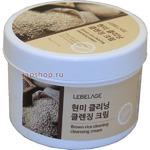 Lebelage Brown Rice Cleaning Cleansing Cream Крем для лица и тела, увлажняющий и очищающий с экстрактом коричневого риса, 500 мл