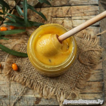 Крем-мед с облепихой ВЕСОВОЕ
