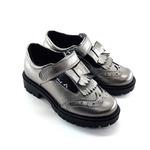 Школьные туфли для девочек Модель Линси металлик