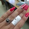 Кольцо из серебра с жемчугом Swarovski и фианитами родированное