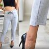 Летние брюки спереди шов