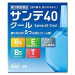 Santen 40 Cool Возрастные капли с витамином E, B6 и таурином и ментолом, 12 мл