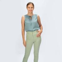 АМИНА брюки, цвет св.зеленый, 42-52