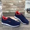 Мужские кроссовки А8203-8 темно-синие