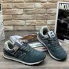 Мужские кроссовки А887-12 темно-серые