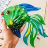 Сувенир «Зелёная рыбка»